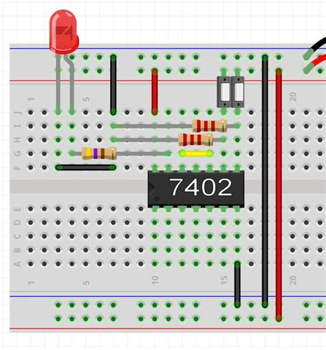Breadboard Logic Multiple Gates Joe Hobby Electronics