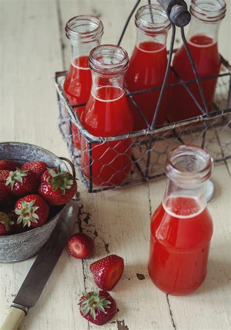 limonade aux fraises oranges erable trois fois par jour