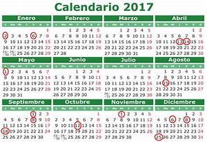 Calendario 2017 con festivos Spain   Printable 2018 ...