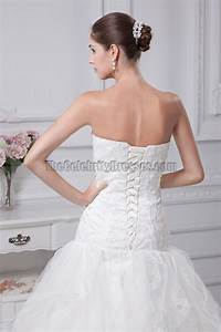 sweetheart lace organza lace up back wedding dress With lace up back wedding dress