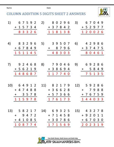 math skill worksheets basic math skills worksheets
