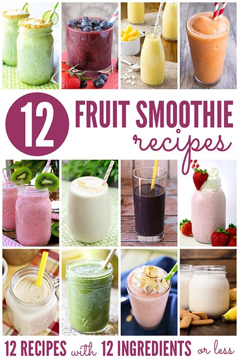 fruit smoothie recipes peanut butter and honey oat smoothie recipe with banana