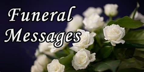 funeral messages page