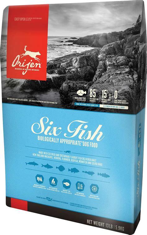 orijen  fish grain  formula dry dog food  lb bag