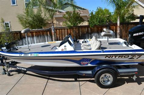 Bass Boats For Sale Under 25000 by Nitro Z7 Bass Boat For Sale