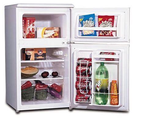 Mini Fridge With Freezer Refrigerator Bedroom Kids Office