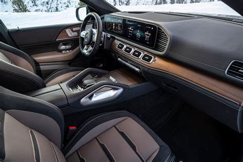 Interior is quiet, upscale and roomy. 2020 Mercedes-AMG GLE 53 Coupe Review - GTspirit