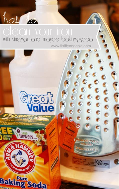 how to clean iron thrifty and chic diy projects and home decor