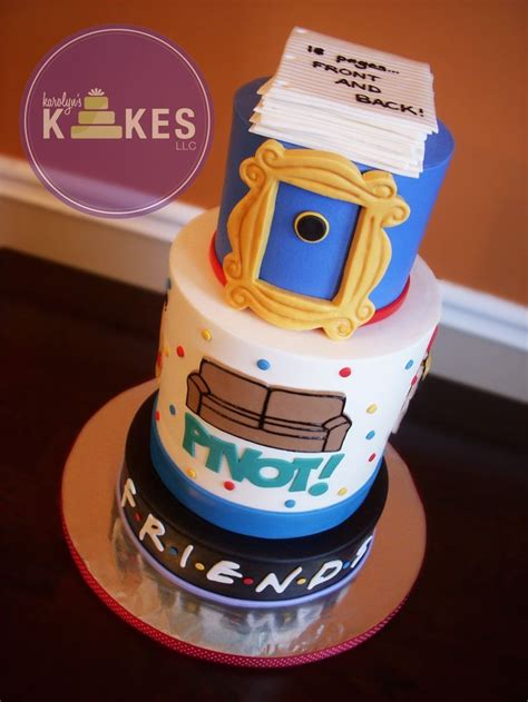 Cake Decorating Shows On Tv - 30 awesome friends tv show themed birthday cakes