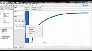 Supplier Spend Pareto Chart In Tableau Youtube