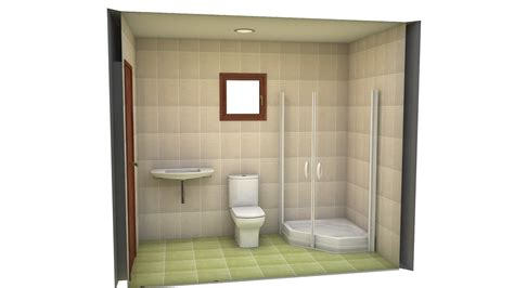 bathrooms design project bathrooms baño 3m2 by decoradora