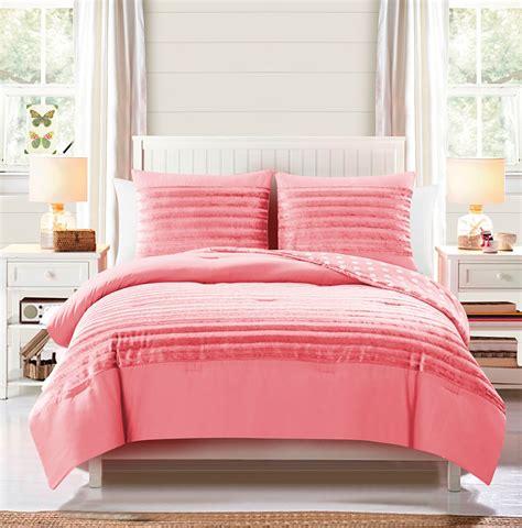 marilyn comforter set classics marilyn 3pc reversible comforter set coral