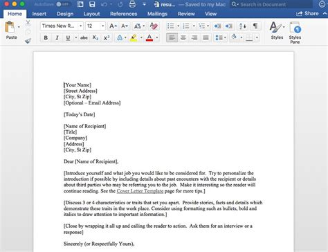 How To Do A Resume On Microsoft Word by 15 Free Docs Microsoft Word Resume Templates