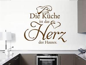 Wandtattoo Küche Bilder : wandtattoo die k che ist das herz des hauses klebeheld de ~ Sanjose-hotels-ca.com Haus und Dekorationen
