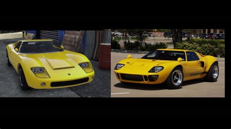 All Gta V Cars In Real Life (all Vehicles In Grand Theft