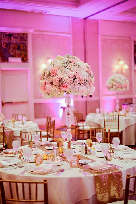 Grand Wedding Decorations - 25 best pink wedding receptions ideas on
