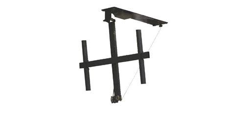 support plafond tv motorise tv 75 pouces dimensions crafts