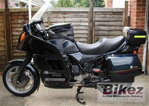 bmw k 100 lt 1989 bmw k 100 lt specifications and pictures