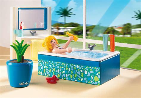 playmobil  salle de bains avec baignoire achat