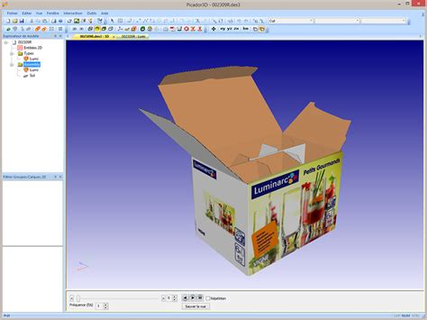 folding reality treedim packaging cad and pos display design software