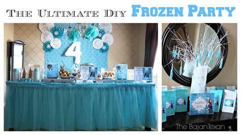 diy decorations the ultimate diy frozen