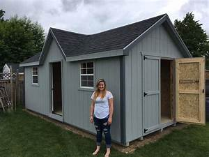 Chalet Prefab Garden Sheds  U00bb North Country Sheds