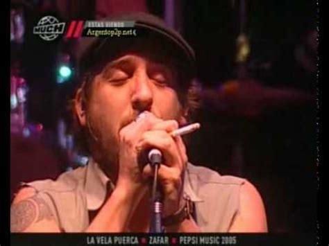 Zafar La vela puerca en vivo YouTube