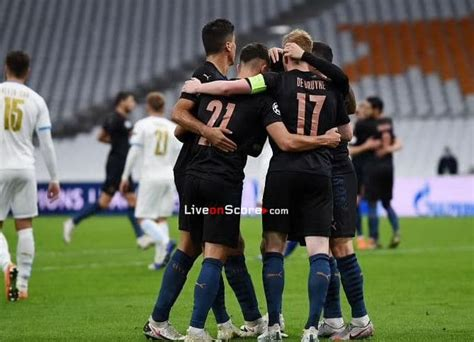 Manchester City vs Marseille Preview and Prediction Live ...