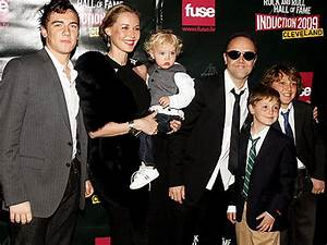Lars Ulrich and Family Rock On – Moms & Babies – Celebrity ...