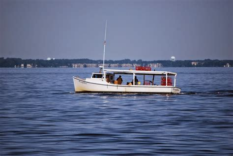 Chesapeake Bay Crab Boat by Vote No Malley Matapeake State Park Fishing Report