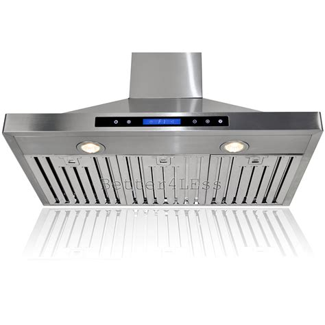 36 Quot Wall Mount Stainless Steel Kitchen Range Hood Vent