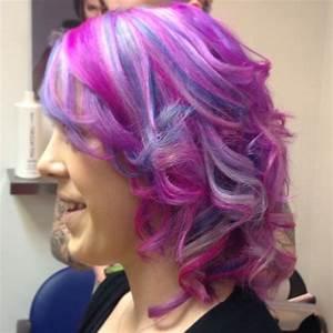 Pink purple blue hair | Hair | Pinterest | Blue Hair ...