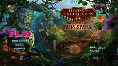 Paradise Expedition Hidden Beta Version Object