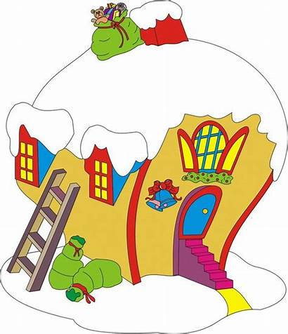 Whoville Christmas Clipart Cindy Lou Yard Grinch