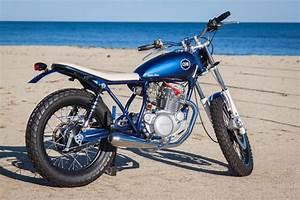 Racing Caf U00e8  Yamaha Sr 250  U0026quot Little Blue U0026quot  By C59r
