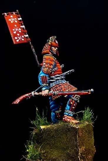 samurai ashigaru commander  costas rodopoulos puttypaint