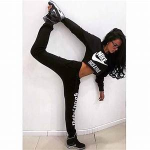 Pants shirt black nike white joggers workout leggings gym sweater casual short ...