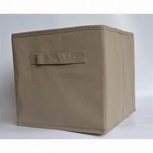 Panier Cube De Rangement : panier cube de rangement pliable taupe achat vente boite de rangement soldes cdiscount ~ Teatrodelosmanantiales.com Idées de Décoration