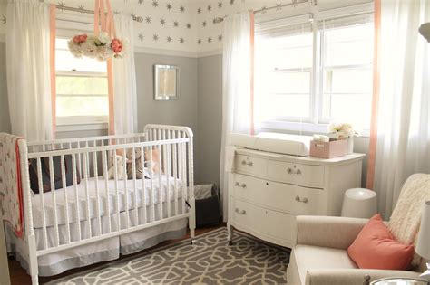 12th and white and gray nursery reveal