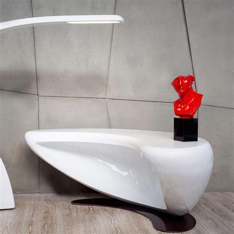 Scrivanie Design Ufficio by Scrivania Design Moderno Da Ufficio Boomerang Made In Italy
