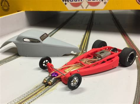 1/24 Slot Car Chassis (6g74aepnx) By Rapid_slot
