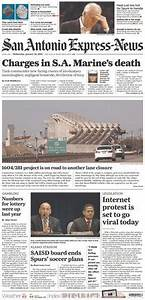 The January 18, 2012 front page of the