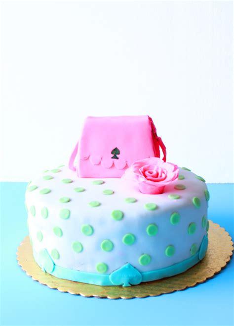kate spade cake diy kate spade themed cake
