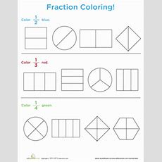 New 701 First Grade Worksheets Fractions  Firstgrade Worksheet