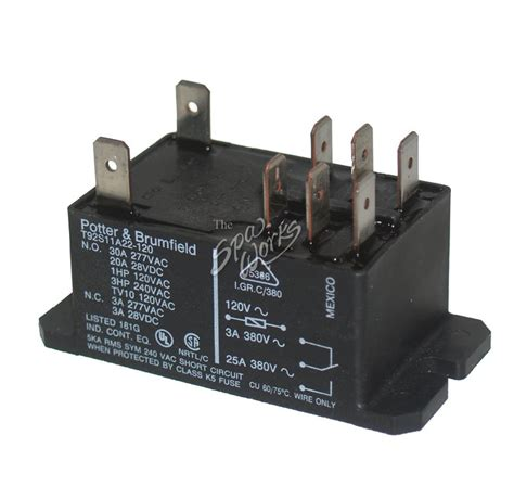 Dpdt Amp Relay Volt Coil The Spa Works