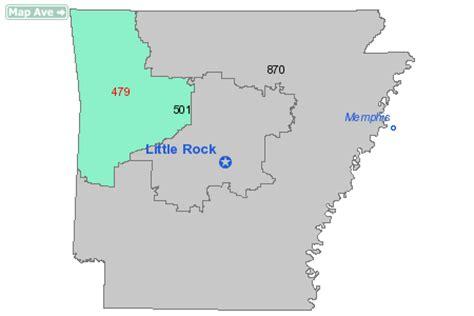 Area Code 479 Information