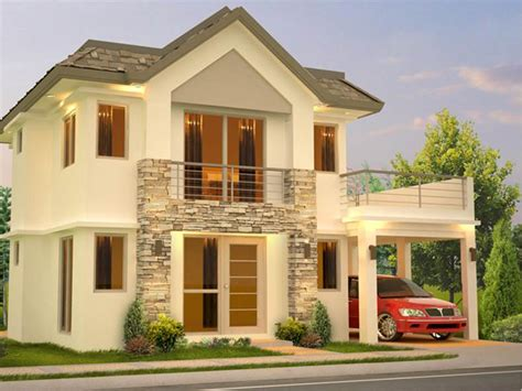 modern  story home design models  ideas