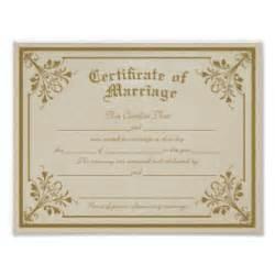 copie d acte de mariage certificat mariage posters certificat mariage affiches