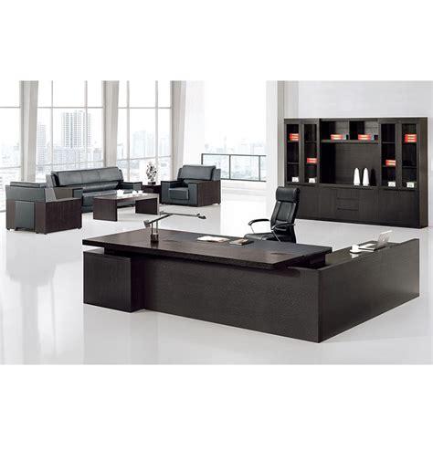 big wooden modern executive desk office table design buy