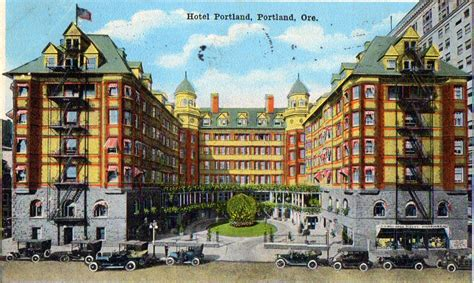 portland oregon hotels courthouse square once was the site of palatial hotel